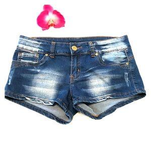 VIP Denim Shorts